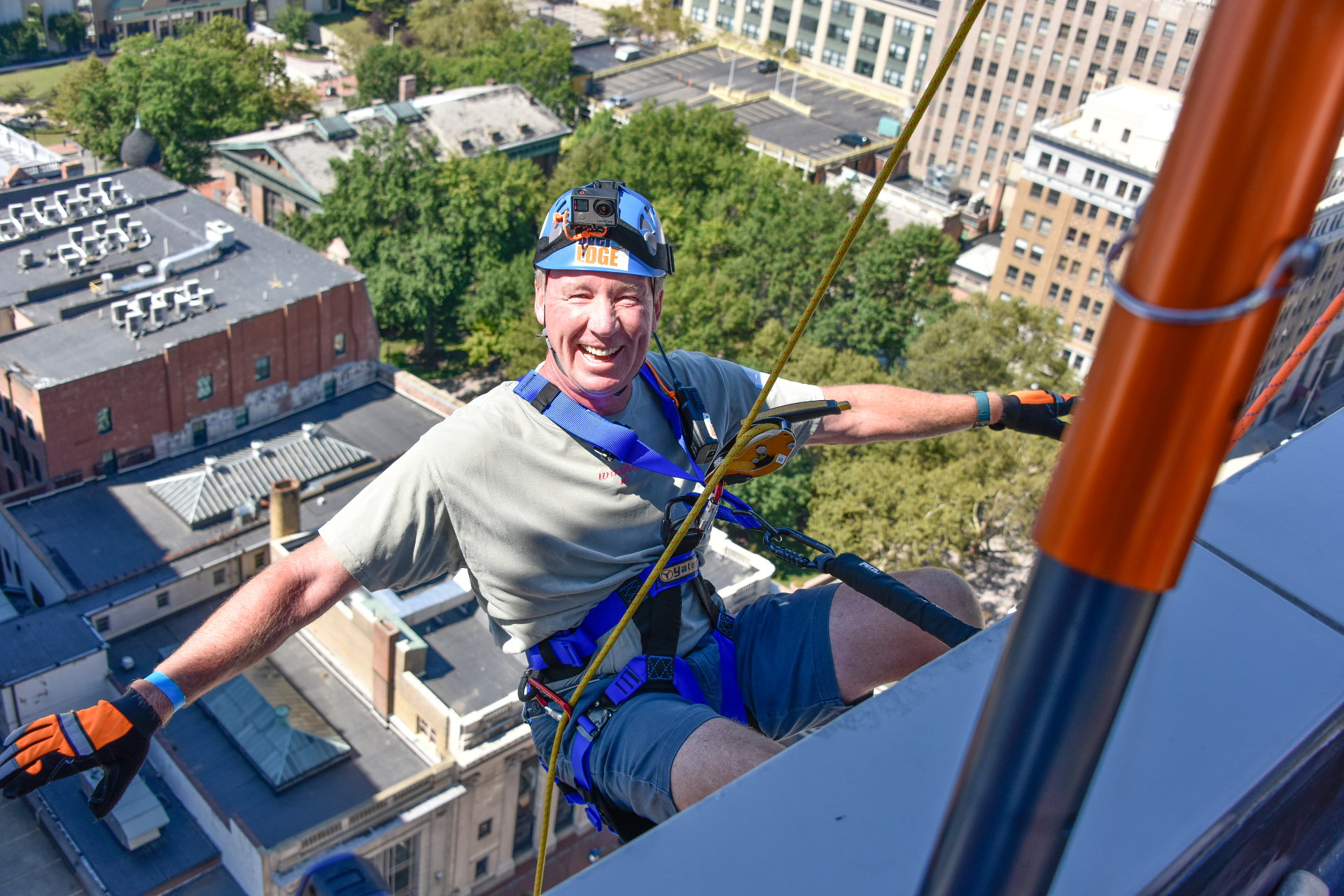 Are You Ready To Go Over The Edge?
